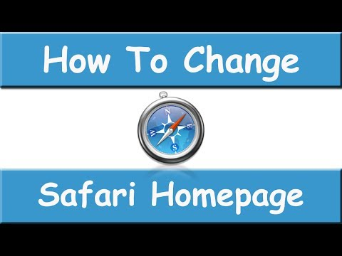 How To Change Safari Homepage - March 2015 - Easy and Fast