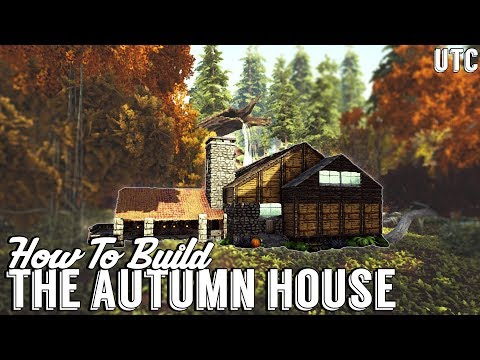 The Autumn House :: Ark Building Tutorial (No Mods) :: How To Build A Large House