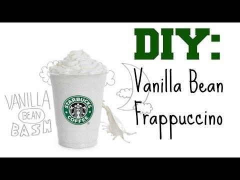 DIY Vanilla Bean Frappuccino!
