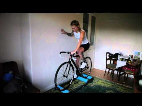 How to ride rollers on a track bike - getting started #getcyclefit