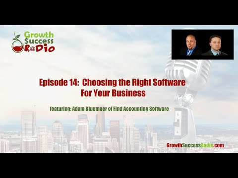 Episode 14 | Choosing the Right Software For Your Business with Adam Bluemner