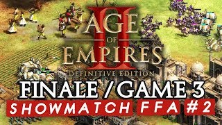 Age of Empires II FFA #2 : Finale - Game 3 (ShowMatch 3000€ Cash prize)