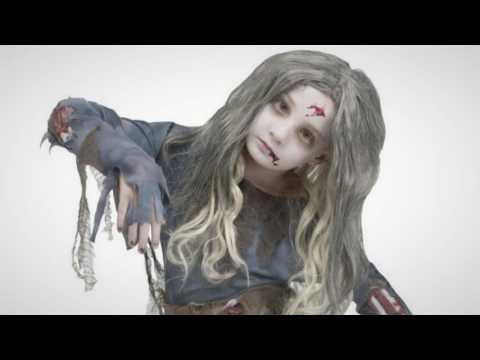 Halloween Costumes: Zombie Girls Halloween Costume