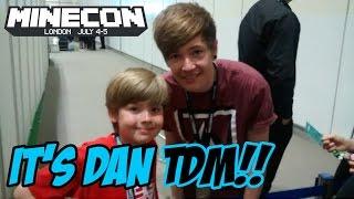Ethan meets DanTDM at Minecon 2015!!! It