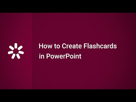 How to Create Flashcards in PowerPoint