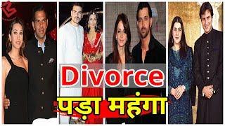 इन Bollywood Stars को Divorce पड़ा इतना महंगा,जान कर आप भी हो जाएंगे हैरान