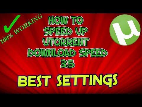 How To Speed Up uTorrent Download Speed 3.5.0 (2017)