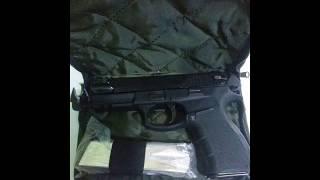 #x202b;مسدس كولمبي بونتيرا انفجر من ثاني اطلاقة#x202c;lrm;