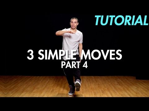 3 Simple Dance Moves for Beginners - Part 4 (Hip Hop Dance Moves Tutorial) | Mihran Kirakosian