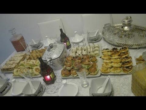حضرو معي مائدة إفطار رمضانية راقية باقتراحات سهلة و متنوعة لضيوف - préparation du ftour
