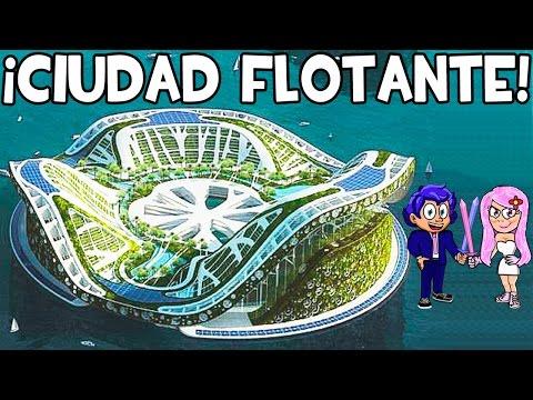 CIUDAD FLOTANTE EN MINECRAFT | LILYPAD CITY | ¡MAPAS SUPERÉPICOS!
