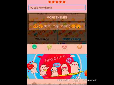 how to get iOS emojis on android 💗.( WORKS 100%)