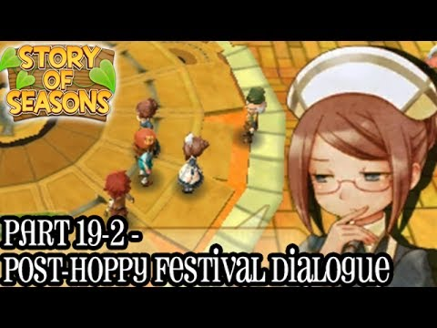 Story of Seasons [Part 19-2 - Post Hoppy Festival Dialogue]