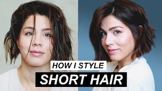 Download How to Style Short Hair | MeganBatoon Video