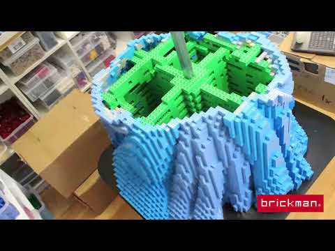 LEGO® brick Cinderella Timelapse