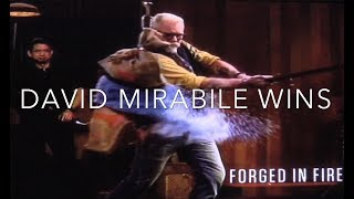 David Mirabile Wins Forged In Fire Highlight Reel 10/24/17