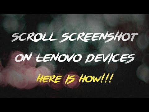 Scroll/Long Screenshot in Lenovo a7000/ Lenovo k3 note [NO ROOT] |Mr.Hacker|