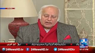 PML N leader Anwar Baig said he is unable to defend PML N on panama issue