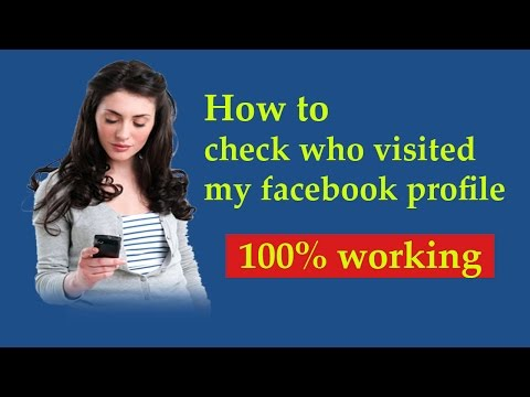 Find Who Visited Your Facebook Profile?  How to find FB Profile Visitors 2017.