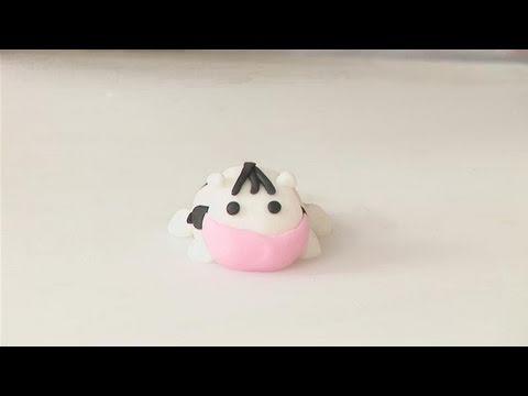 How To Shape A Fondant Cow