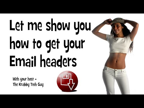 Locate Email headers in Windows Live Mail, Windows Mail or Outlook Express