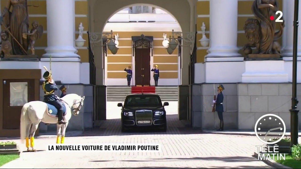 Sans frontières - Moscou : La nouvelle voiture de Vladimir Poutine