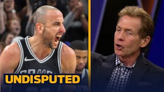 Skip Bayless reacts to Manu