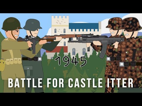 Xxx Mp4 The US Army Amp German Wehrmacht VS Waffen SS Battle For Castle Itter 1945 3gp Sex