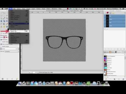 TapSnap Digital Prop Tutorial in GIMP
