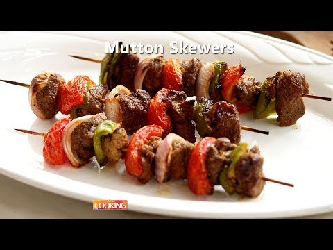 Mutton Skewers   Ventuno Home Cooking