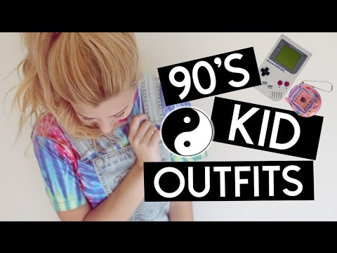 90's Kid Outfit Ideas For Halloween ☯