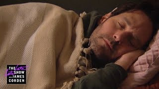 3+ Minutes of Paul Rudd Sleeping