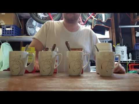 Instant coffee taste test