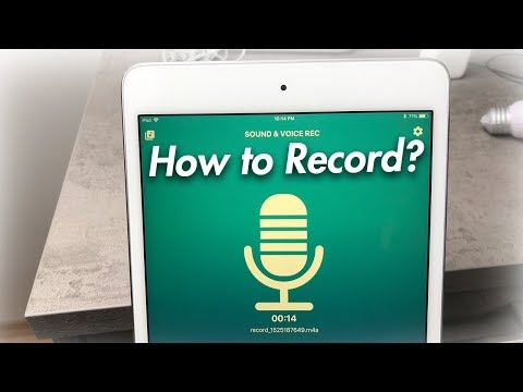 How Do You Record Audio on an iPad - Thursday Questions 005