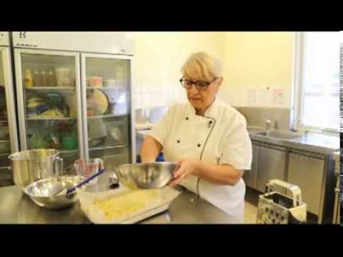 Marie Drewett :: Eggless Apple Crumble Cake Recipe