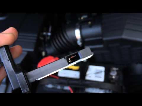 Honda Mass Air Flow Sensor Cleaning