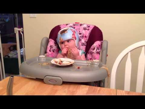 Ivy Eating Pasta