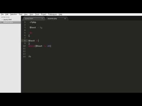 PHP While, Do While loop Tutorial for Beginners