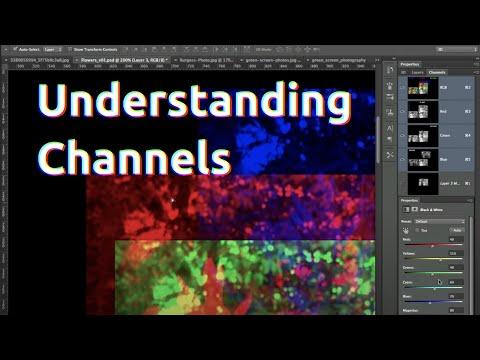 Understanding Channels in Photoshop CS6