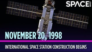 Otd In Space - Nov. 20: International Space Station Construction Begins