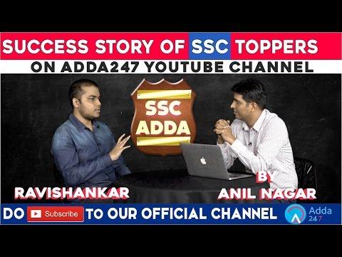 Success Story of Ravishankar Singh (Rank 1 in SSC CGL 2015) : Chat with Mr Anil Nagar (CEO-Adda247)