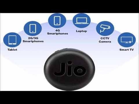 Jio FI  JMR815 wireless hi speed data card