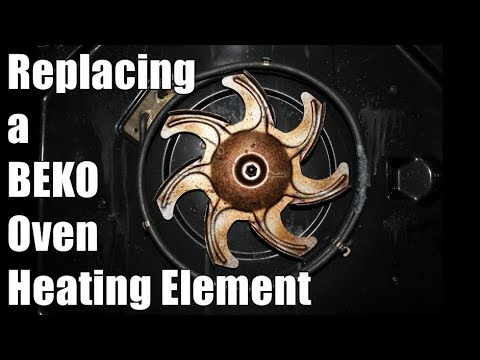 How to change an Oven Heating Element on a Beko Oven - Fan Oven not heating up?