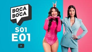 Boca A Boca S01E01 | PABLLO VITTAR, CUFA, ANDREA BAK e mais!