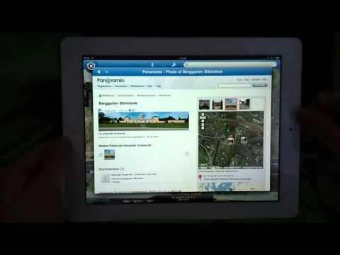 IPad 2 - Google Earth - Alexander Grosse-Strangmann Panorama Pics HD Video