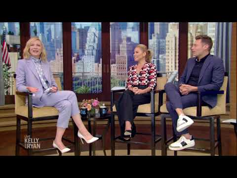 Cate Blanchett Talks