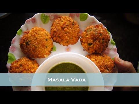How to make Masala Vada / South Indian Vada / Chana Dal Vada / Hindi