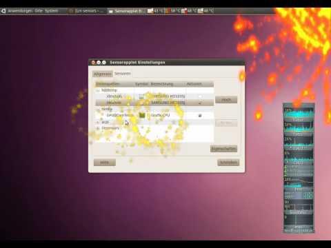 Ubuntu 10.04 Temp Sensor CPU HDD GPU
