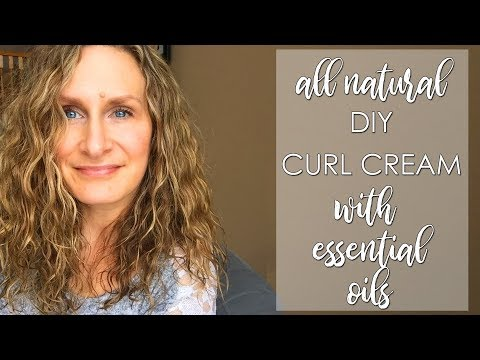 DIY All Natural Curl Cream
