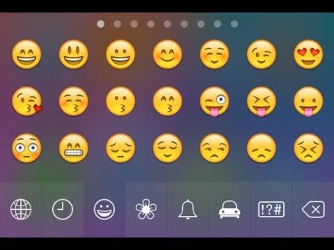 How to add Emoji Keyboard For iPhone